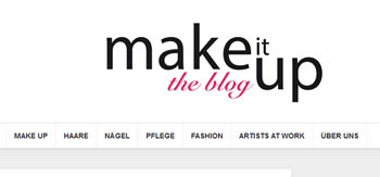 Schütthaar im Make it up Blog